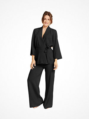 Pierre Robert X Jenny Skavlan Wool Lounge Pants Black