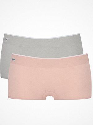 sloggi Move 2-pack Sloggi mOve Seamless Shorty Pink/Grey
