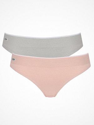 sloggi Move 2-pack Sloggi mOve Seamless Thong Pink/Grey