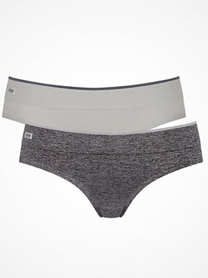 sloggi Move 2-pack Sloggi mOve Seamless Hipster Grey/Darkgrey