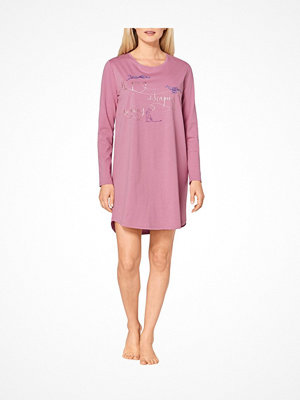 Triumph Lounge Me Cotton Nightdress Long Sleeve Ancientpink