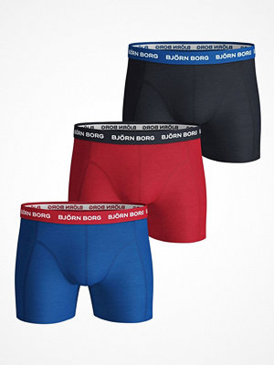 Björn Borg 3-pack Essential Shorts 1933 Blue/Red