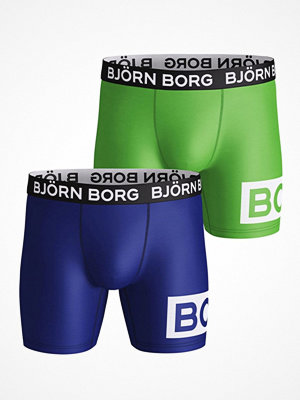 Björn Borg 2-pack Performance Shorts 1932 Blue/Green