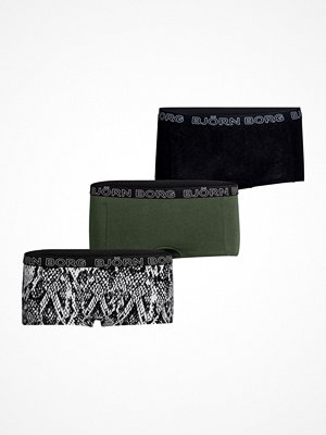 Björn Borg 3-pack Core Minishorts 1933 Black/Green