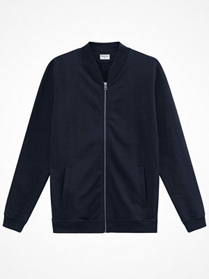 Bread and Boxers Men Jersey Jacket Navy-2