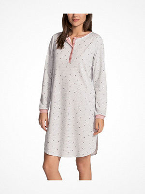 Calida Sweet Dreams Sleepshirt LS Pink Striped
