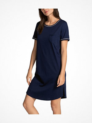 Calida Sweet Dreams Sleepshirt SS Navy-2