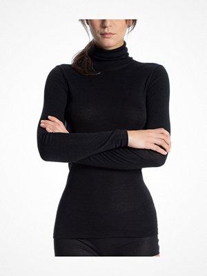 Calida True Confidence Polo Shirt Long Sleeve Black