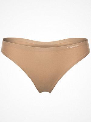 Calvin Klein Invisibles Thong 2.0 Beige
