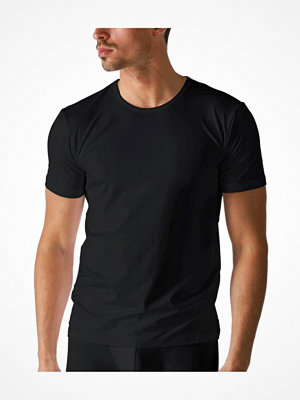 Pyjamas & myskläder - Mey Dry Cotton Crew-Neck Shirt Black