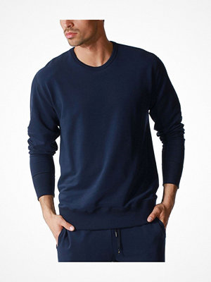 Pyjamas & myskläder - Mey Enjoy Sweatshirt Darkblue