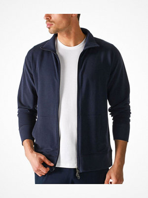 Pyjamas & myskläder - Mey Enjoy Sweat Jacket With Zip Darkblue