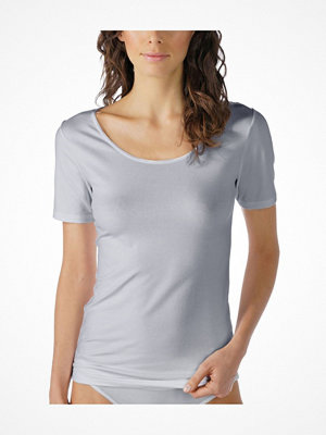 Mey Cotton Pure Short-Sleeved Top Greymarl