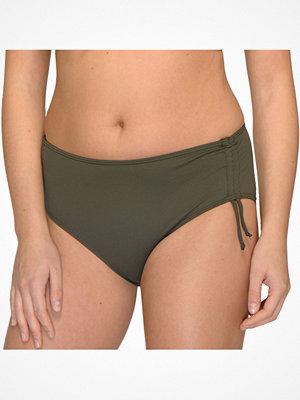 Saltabad Bikini Basic Maxi Tai With String Militarygreen