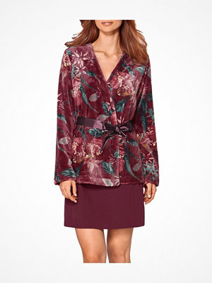 Triumph Lounge Me Cosy Robe Red Pattern-2
