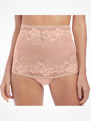 Wacoal Lace To Love High Waist Thong Pink