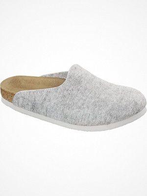 Tofflor - Birkenstock Amsterdam Light grey