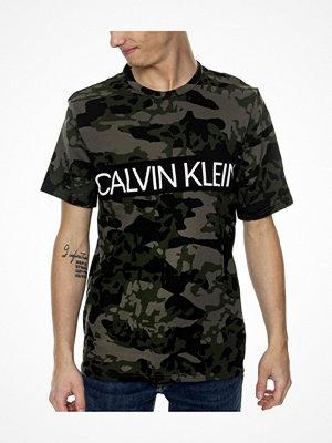 Calvin Klein SS Crew Neck T-shirt Khaki