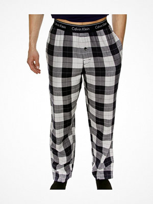 Pyjamas & myskläder - Calvin Klein Modern Cotton Stretch Sleep Pant Blue/White