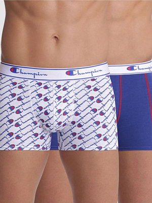 Champion Underwear 2-pack Champion Everyday Boxer Y081W Blue/White
