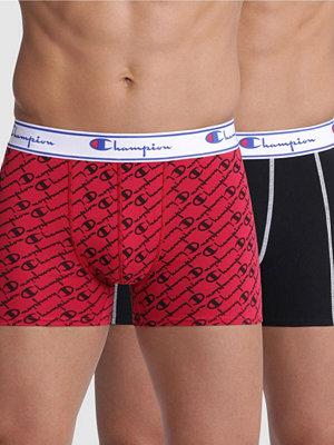 Champion Underwear 2-pack Champion Everyday Boxer Y081W Black/Red