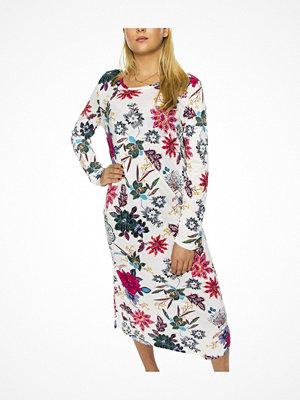 Damella Bamboo Print Nightdress LS Floral