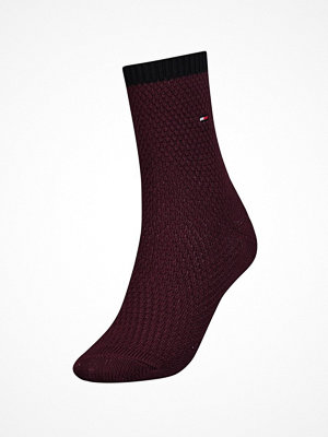 Strumpor - Tommy Hilfiger Women Boot Sock Red
