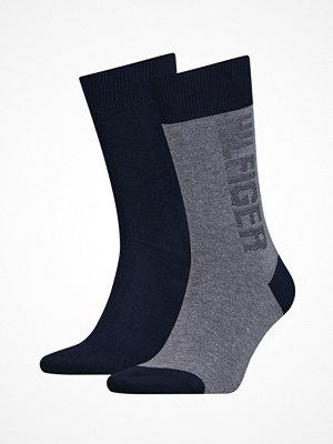 Strumpor - Tommy Hilfiger 2-pack Men Socks Navy-2
