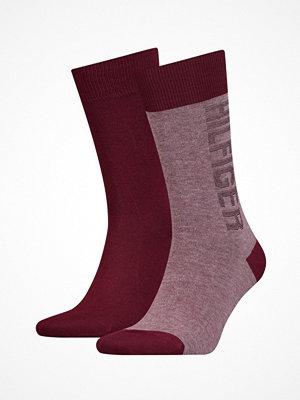 Strumpor - Tommy Hilfiger 2-pack Men Socks Red