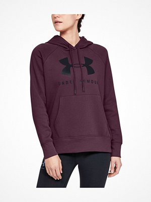 Under Armour Rival Fleece Sportstyle Hoodie Wine red