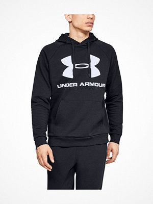 Under Armour Rival Fleece Sportstyle Logo Hoodie Black