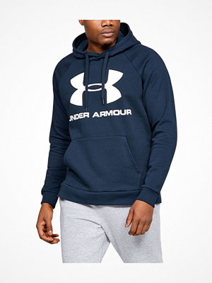 Under Armour Rival Fleece Sportstyle Logo Hoodie Darkblue