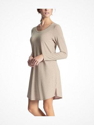 Calida Cosy Wool Sleepshirt Beige