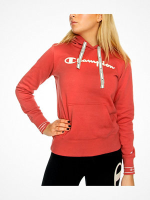 Champion Women Hooded Sweatshirt American Classic Raspberry red