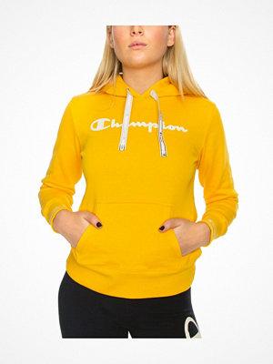 Champion Women Hooded Sweatshirt American Classic Mustard