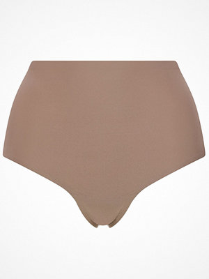 Chantelle Soft Stretch High Waisted Thong Plus Cappuccino