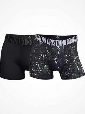 CR7 Cristiano Ronaldo 2-pack Fashion Microfiber Trunk Black/Green