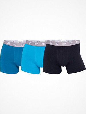 CR7 Cristiano Ronaldo 3-pack Men Trunk Blue/Turquoise