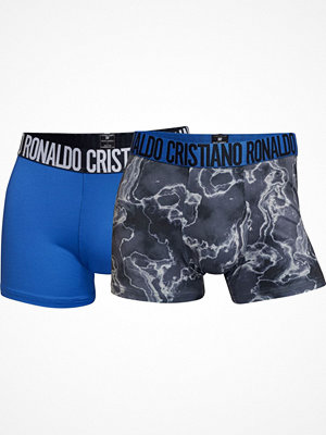 CR7 Cristiano Ronaldo 2-pack Fashion Microfiber Trunk Blue/Grey