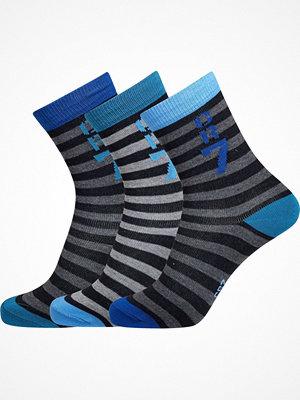 Strumpor - CR7 Cristiano Ronaldo 3-pack Boys Socks Greystriped