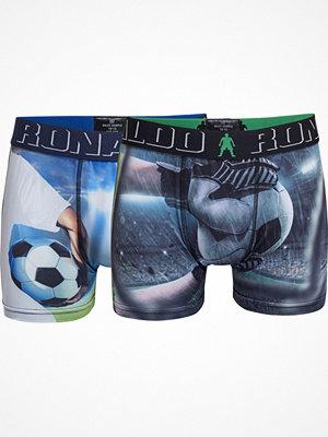 CR7 Cristiano Ronaldo 2-pack Boys Printed Micro Trunk Blue/Green