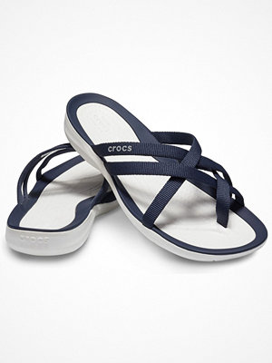 Crocs Swiftwater Webbing Flip W Navy-2
