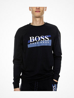 Pyjamas & myskläder - Hugo Boss BOSS Authentic Sweatshirt Darkblue