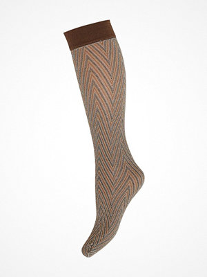 Strumpor - Hype the Detail Knee High Brown