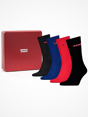 Strumpor - Levi's 4-pack Giftbox Regular Cut Multi-colour