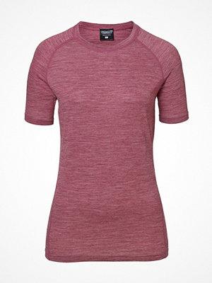 Pierre Robert Light Wool T-shirt Deep purple