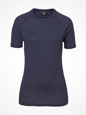 Pierre Robert Light Wool T-shirt Navy/Blue