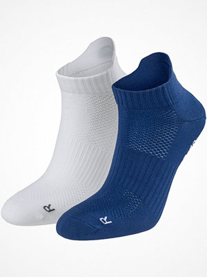 Strumpor - Pierre Robert 2-pack Low Cut Socks Women Blue/White