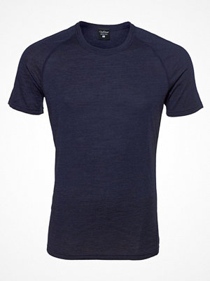Pyjamas & myskläder - Pierre Robert For Men Light Wool T-shirt Navy/Blue