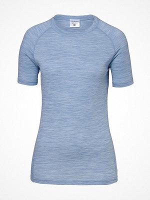 Pierre Robert Light Wool T-shirt Lightblue